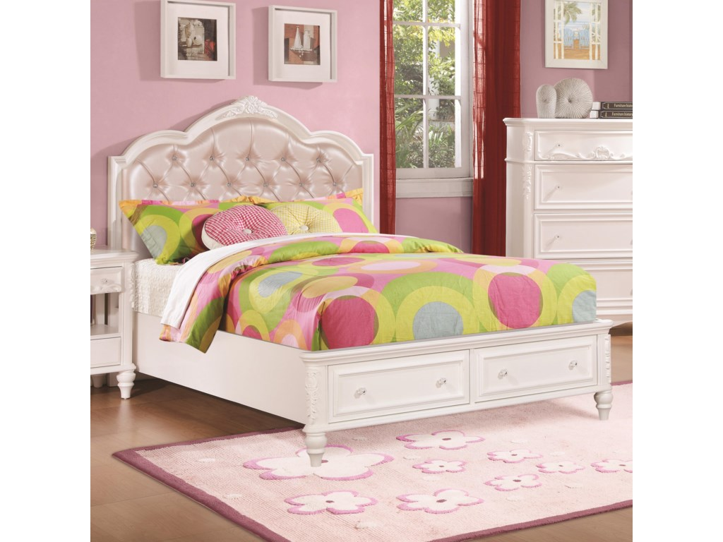 Coaster CarolineFull Size Storage Bed
