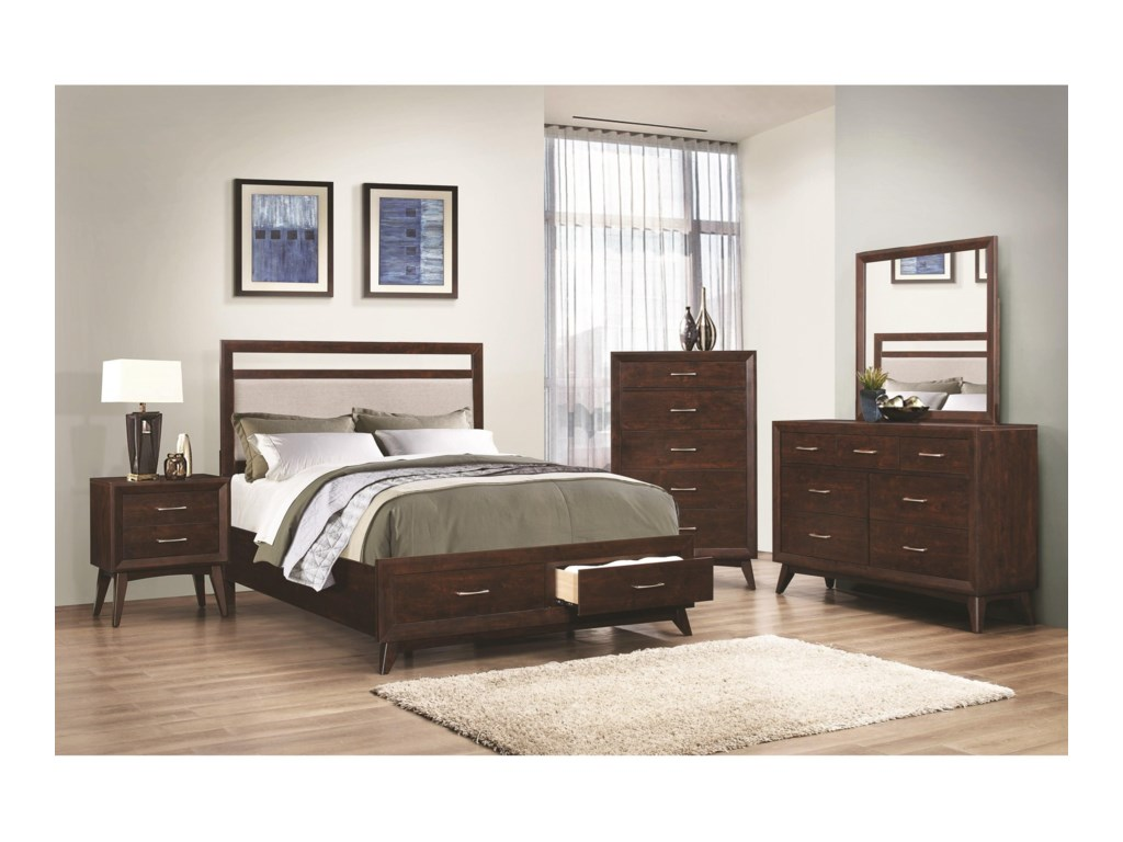 Coaster CarringtonKing Storage Bed