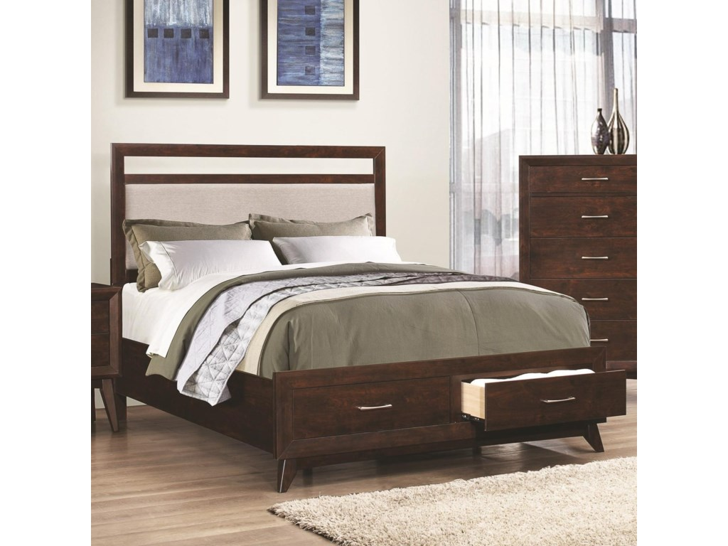 Coaster CarringtonCalifornia King Storage Bed
