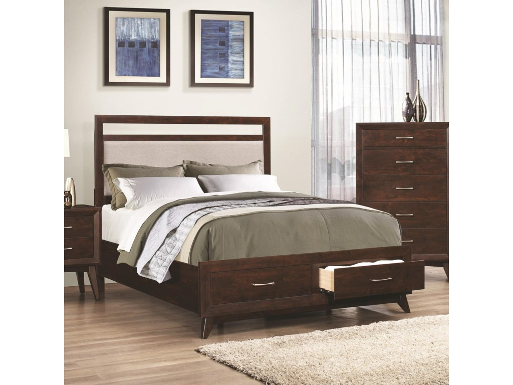 image drawers media bed the less for bedroom with beds product sonoma queen storage furniture set mor
