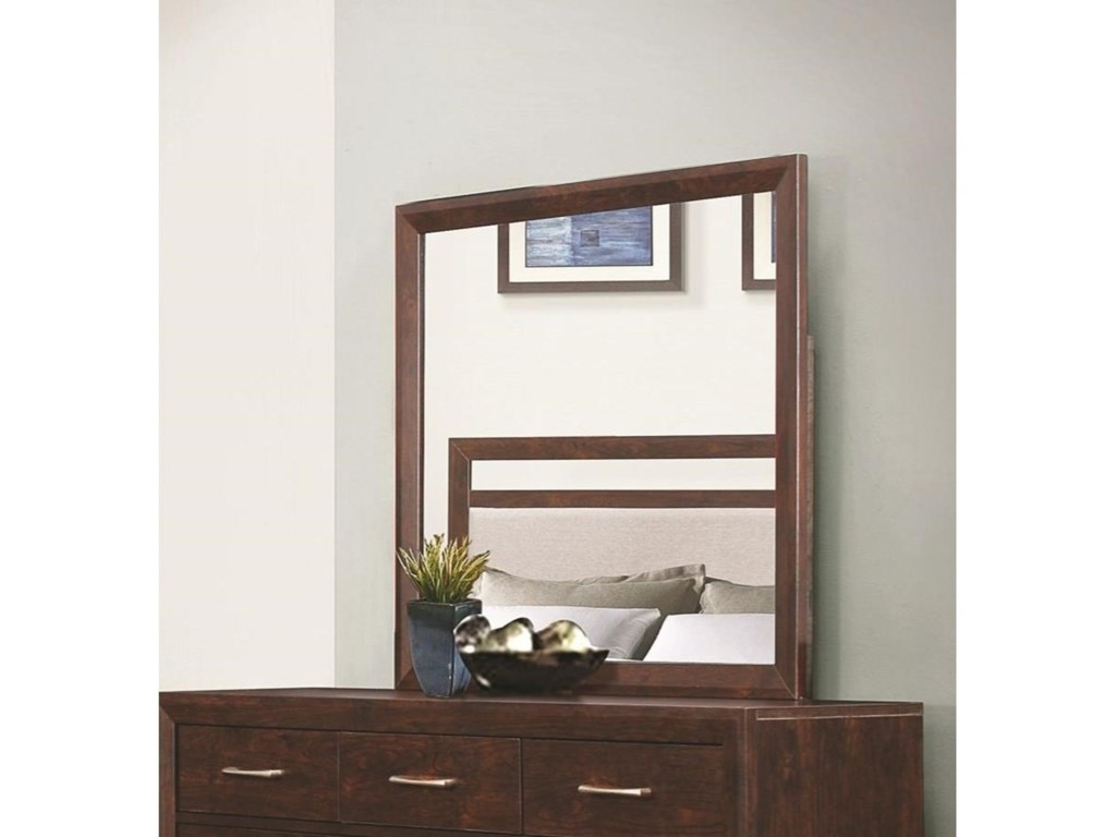 Coaster CarringtonMirror with Wood Frame