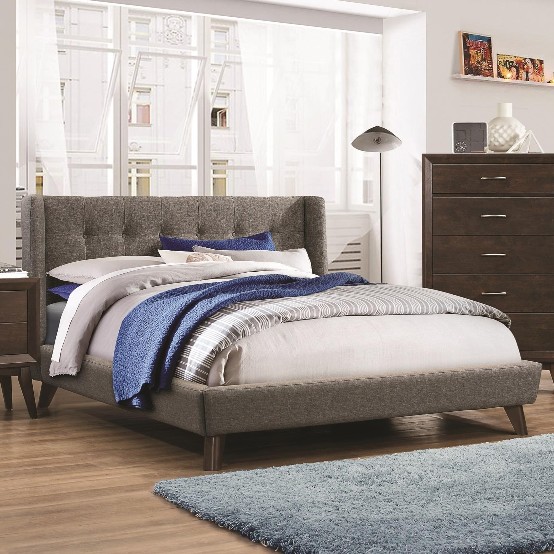 Ordinaire Coaster CarringtonKing Bed