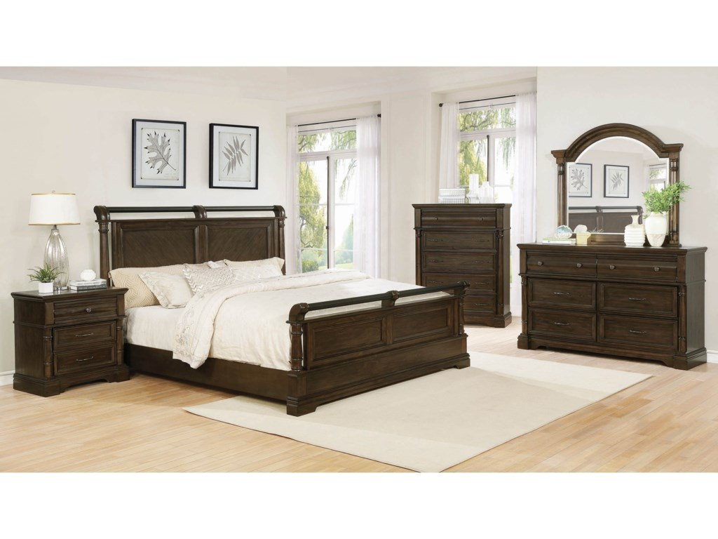 Coaster ChandlerCalifornia King Bedroom Group