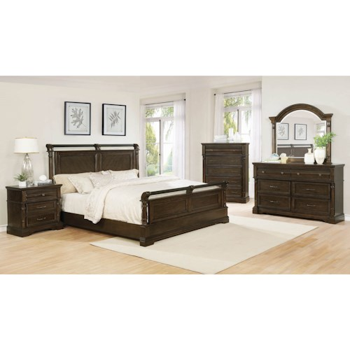 Coaster Chandler California King Bedroom Group