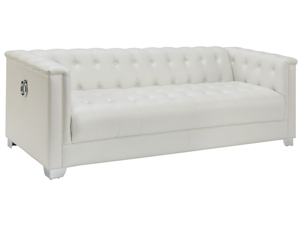 Coaster ChavianoTufted Sofa