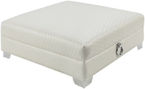 Coaster Chaviano Large Ottoman With Quilted Top