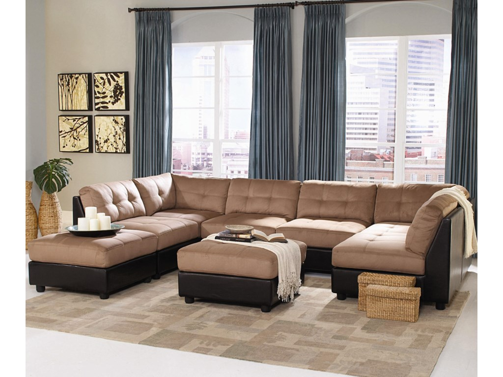 Coaster Claudesectional Sofa
