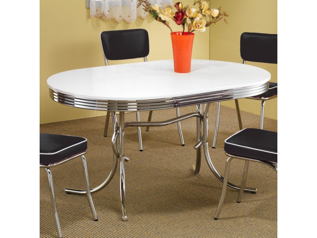 Coaster ClevelandOval Dining Table