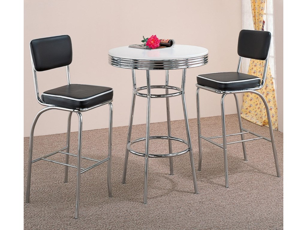 Shown with Coordinating Bar Stools