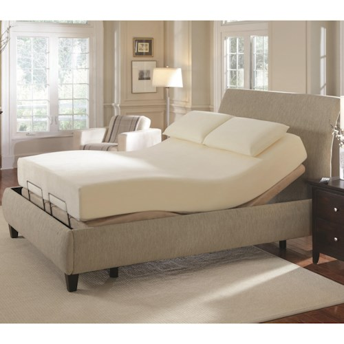 Coaster Coaster Foundations Queen Premier Bedding Pinnacle Adjustable Bed Base