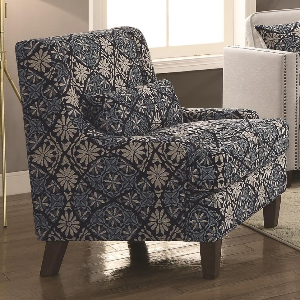 Coaster Coltrane By Coaster Transitional Chair With Nail Head Trim