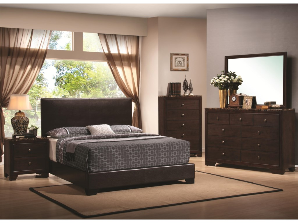 Coaster ConnerKing Bed
