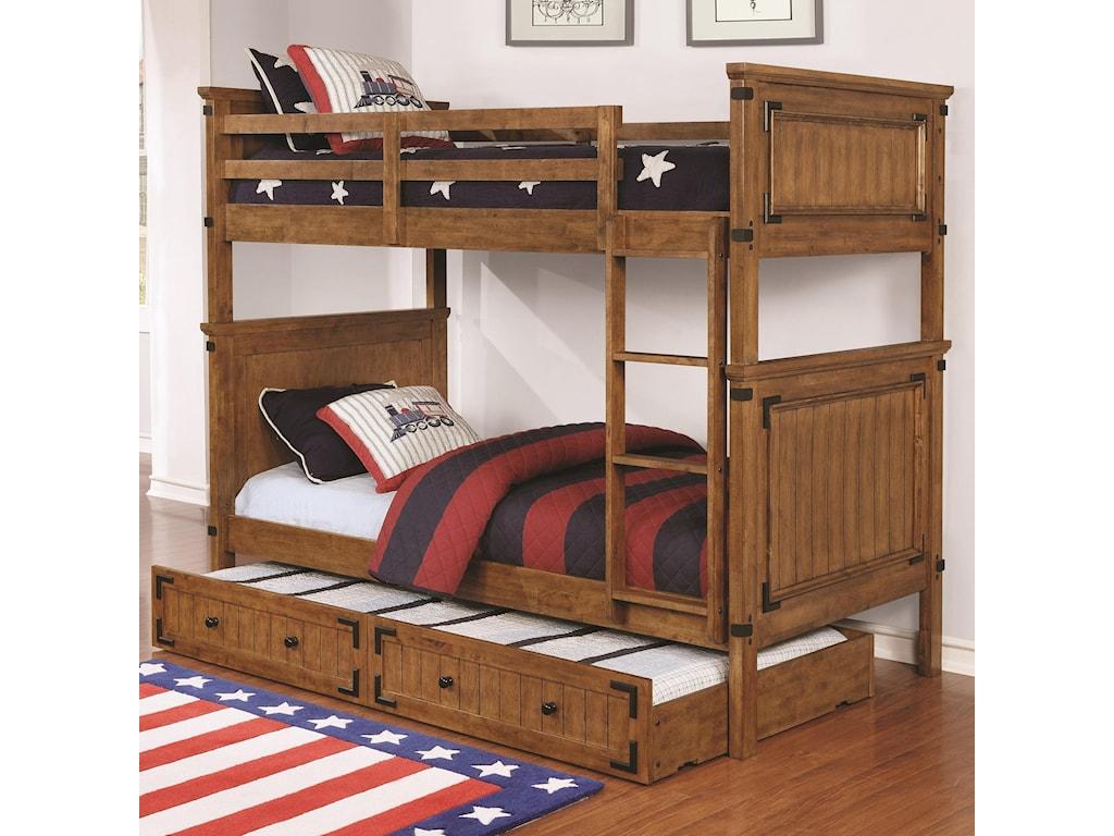 Coaster Coronado Bunk BedTwin over Twin Bunk Bed