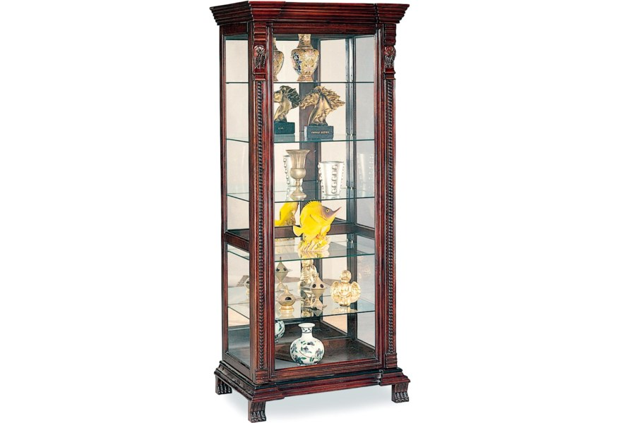 Coaster Curio Cabinets 4715 6 Shelf