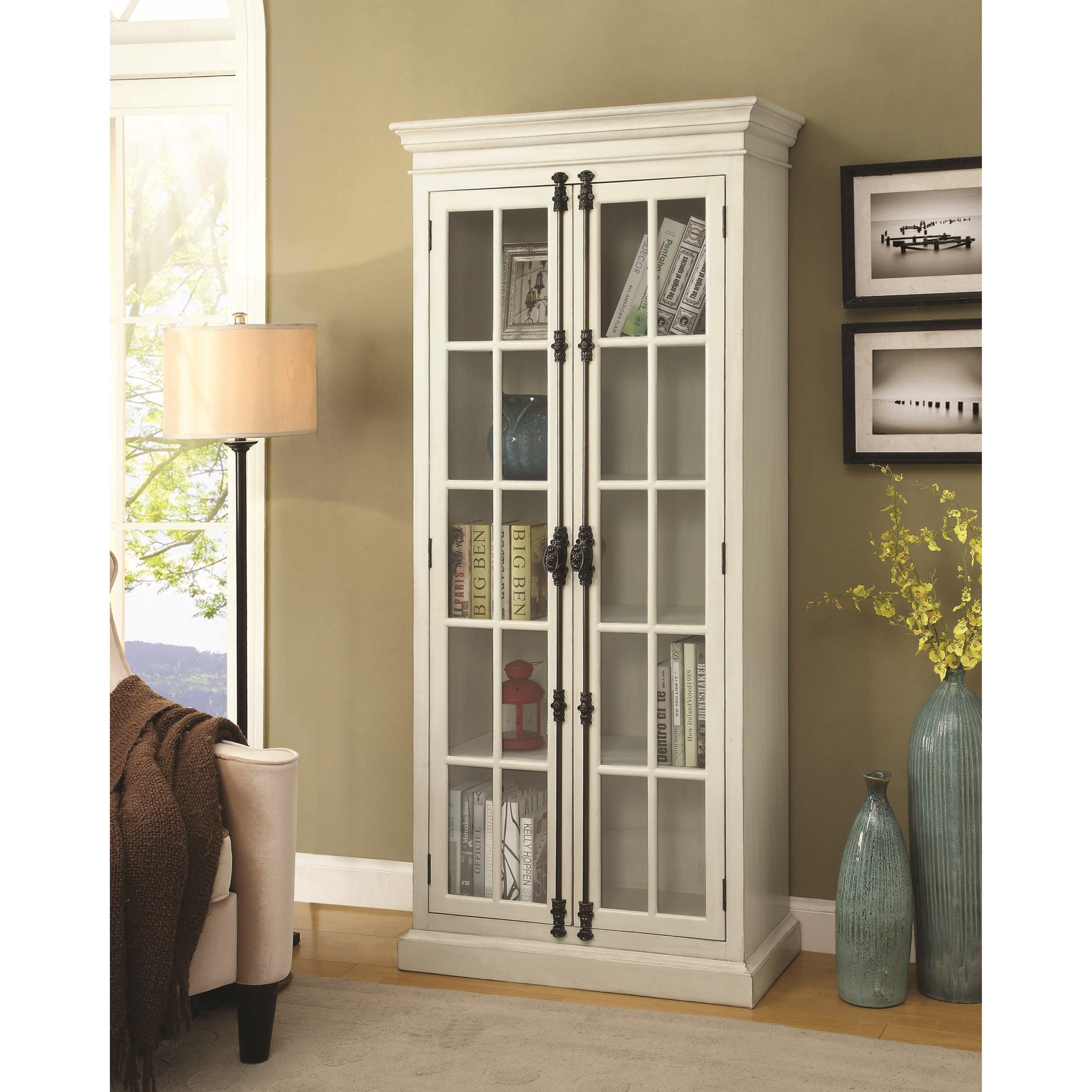 White Curio Cabinet