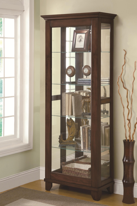 Merveilleux Coaster Curio CabinetsCurio Cabinet
