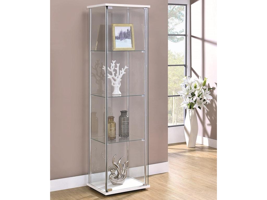 Coaster Curio CabinetsCurio Cabinet