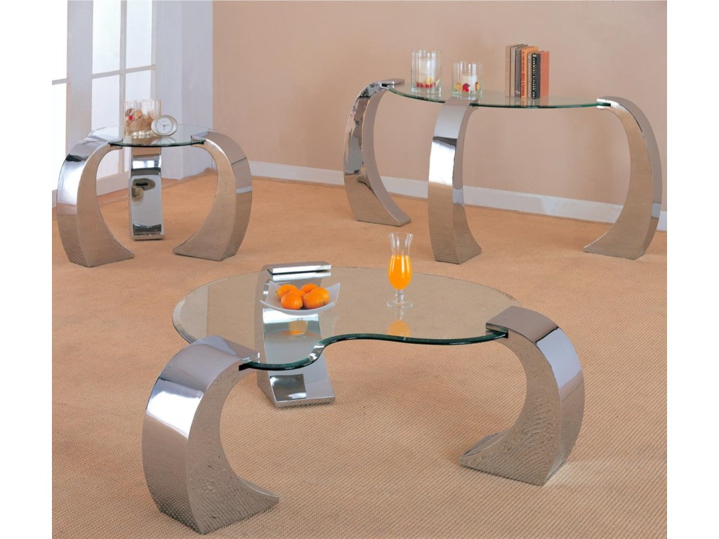 Shown with Coffee Table and Sofa Table