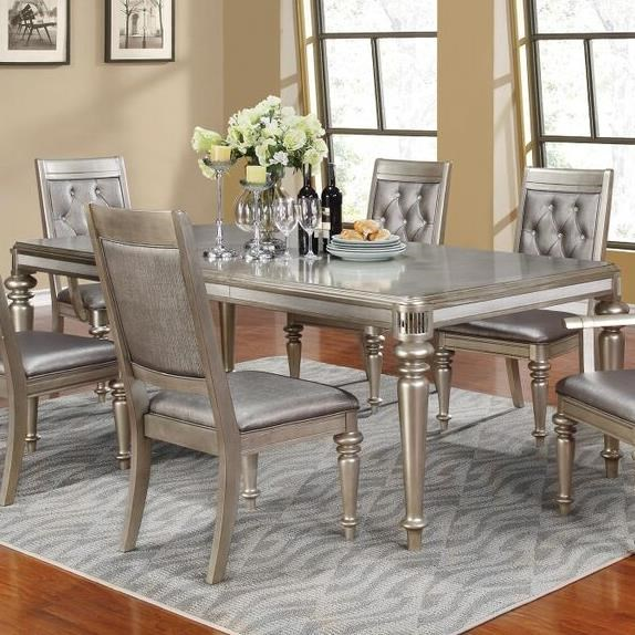 Coaster Danette Rectangular Dining Table With Leaf - Value City