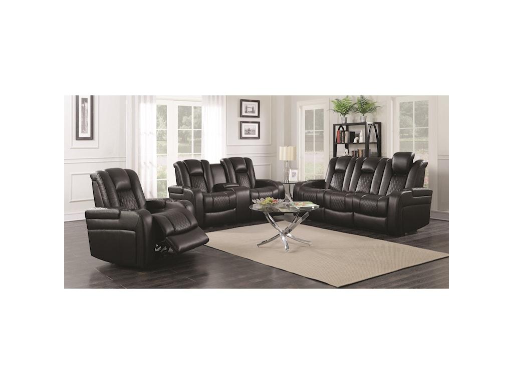 Coaster DelangeloPower Reclining Sofa