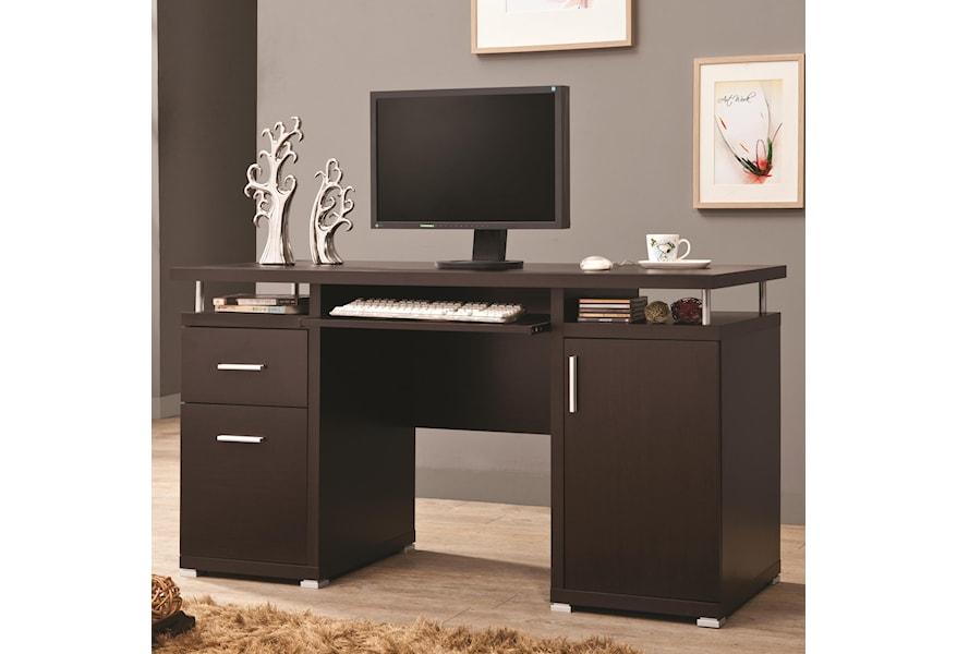 products coaster color desks coaster b0