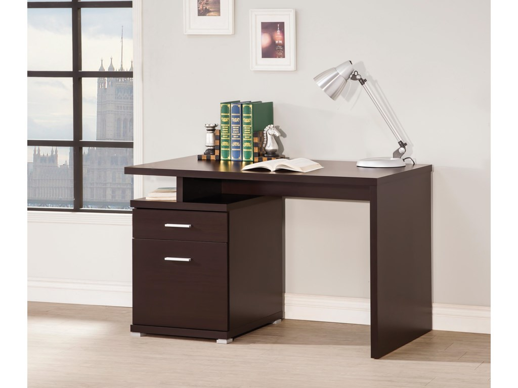 Coaster  -Desk with Cabinet