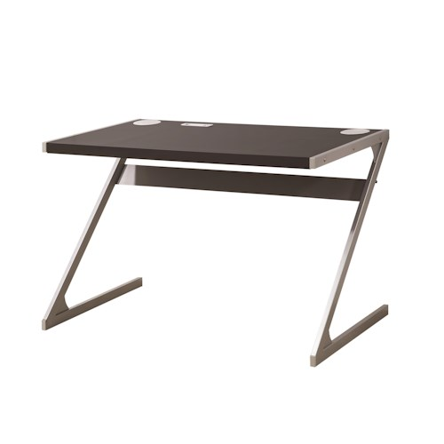 Coaster Desks Modern Bluetooth Speaker Desk with Metal Base