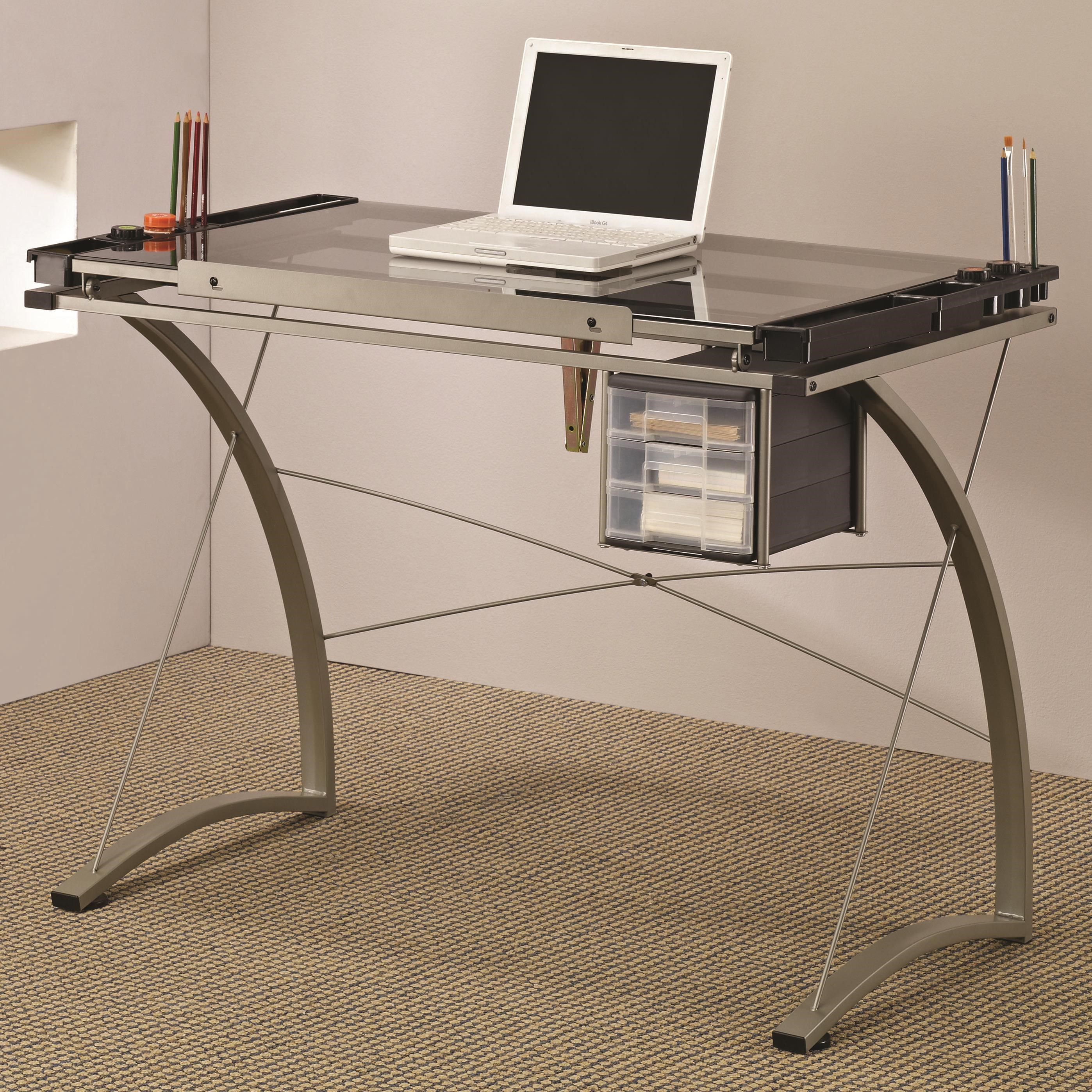 Merveilleux Coaster Artist Drafting Table Desk