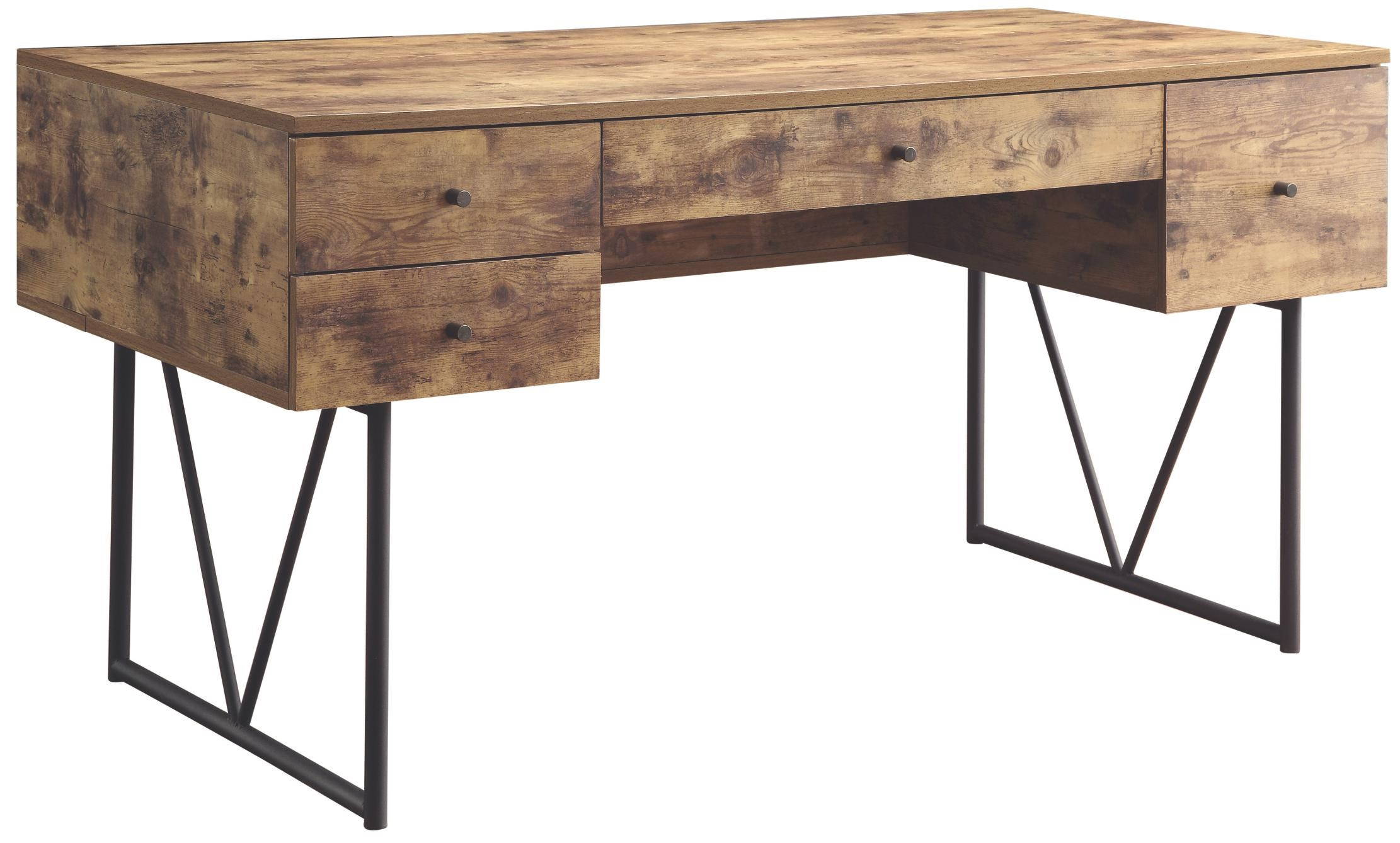 Desk With Four Drawers By Coaster At Rotmans