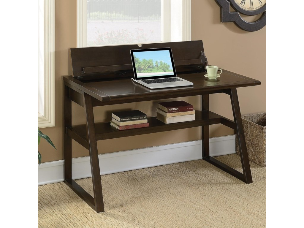 Coaster  Writing Desk with Outlet