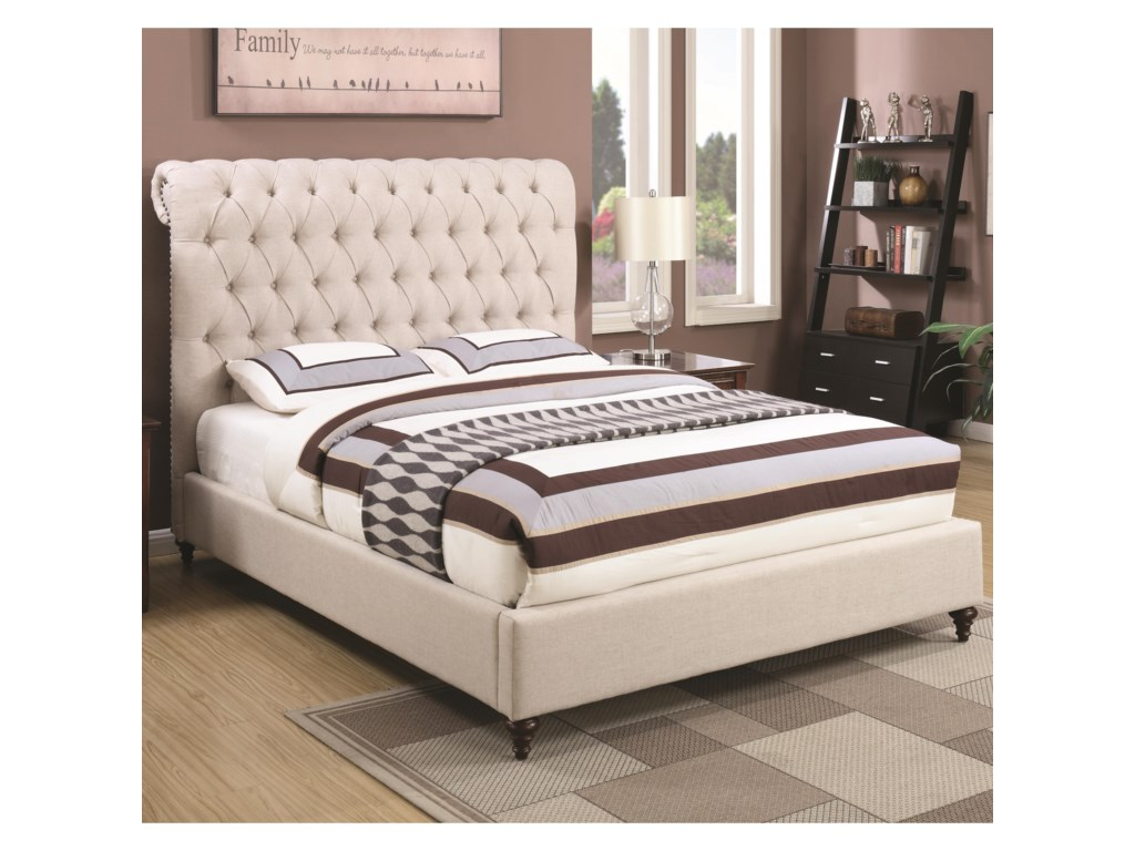 Coaster DevonFull Upholstered Bed