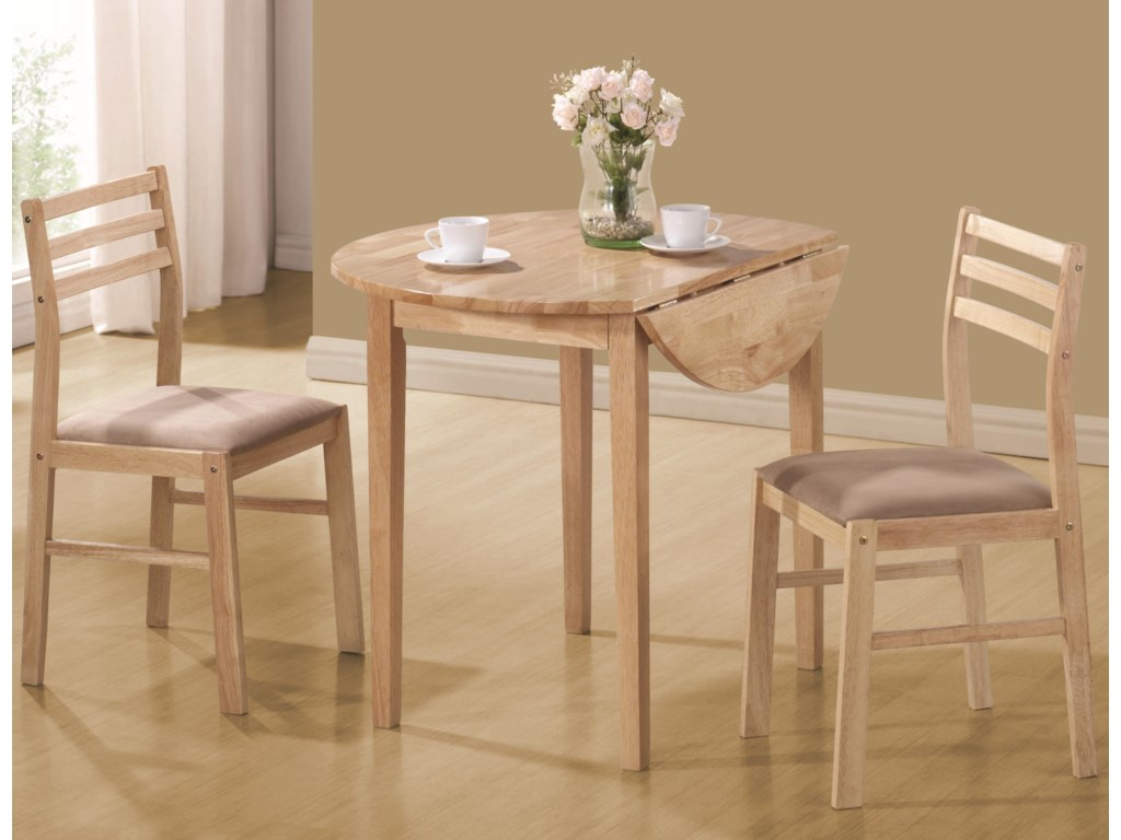 Coaster Dinettes3 Piece Table & Chair Set