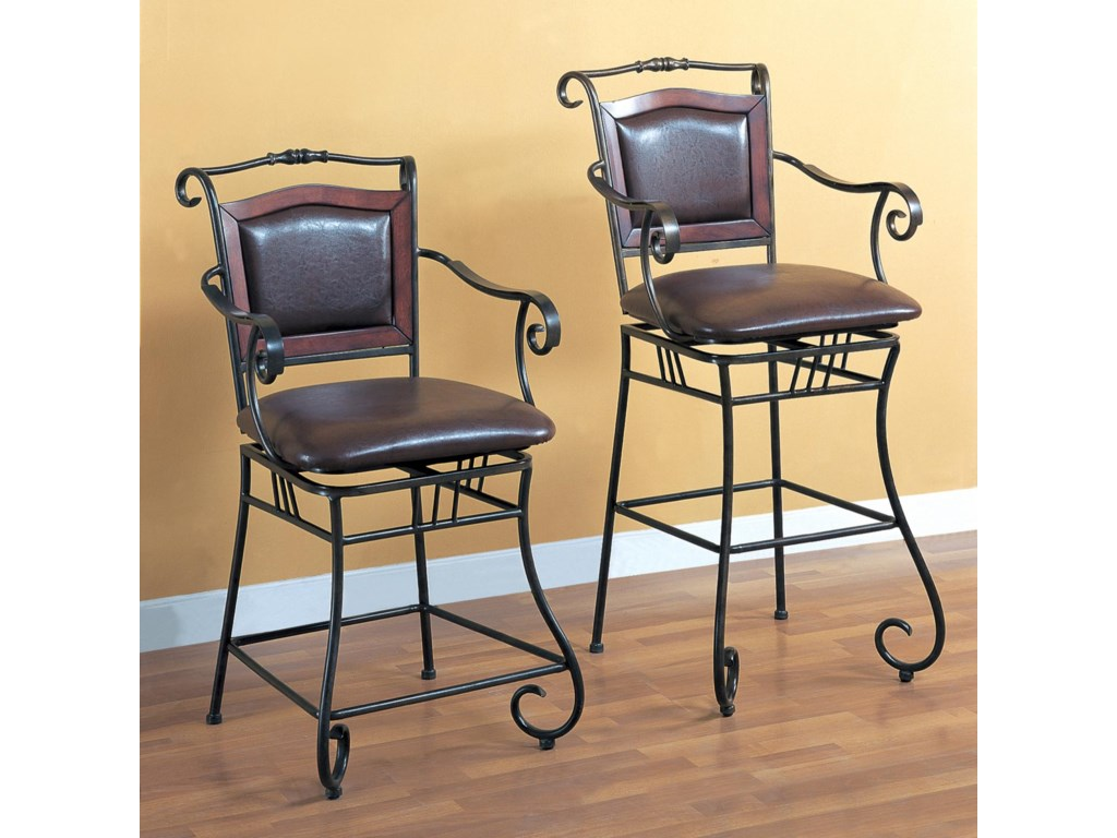 Shown with 24 Inch Bar Stool