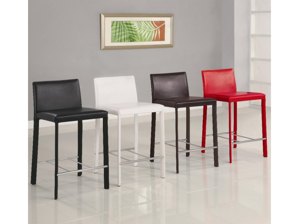 Red Bar Stool Shown No Longer Available