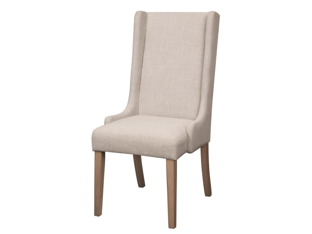 At Home Dining Chairs.Dining Chairs And Bar Stools Upholstered Wingback Dining Chair By Coaster At Value City Furniture