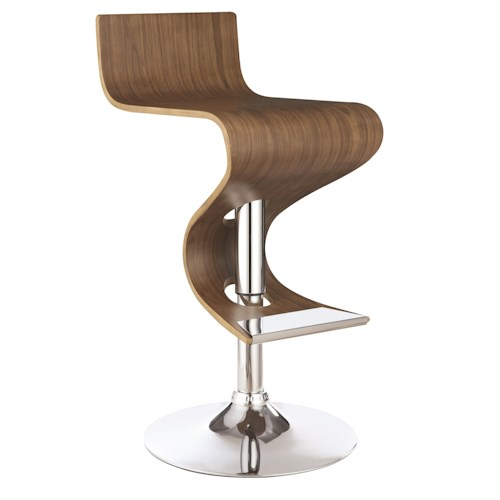 Coaster Dining Chairs And Bar Stools Modern Adjustable Bar Stool - Bar stool chairs