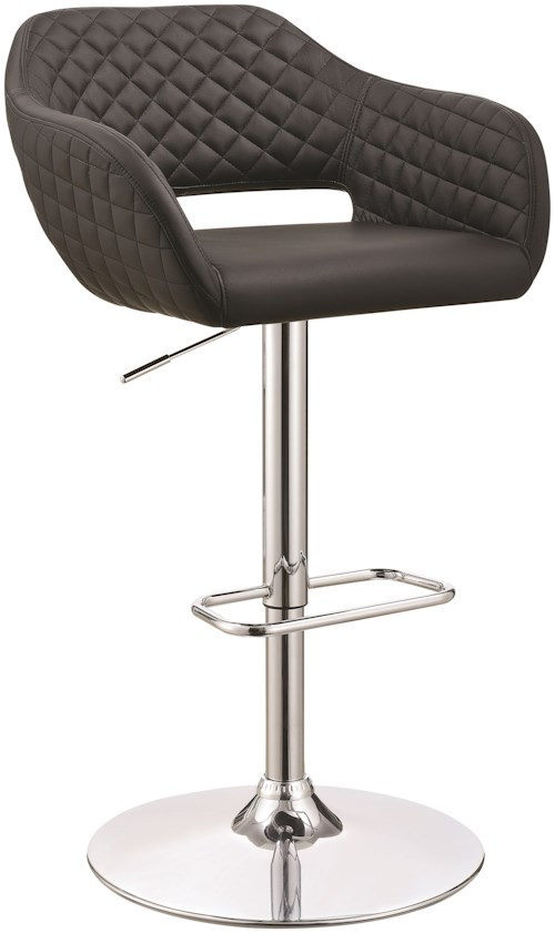 Coaster Dining Chairs And Bar Stools Contemporary Upholstered Bar Stool Value City Furniture