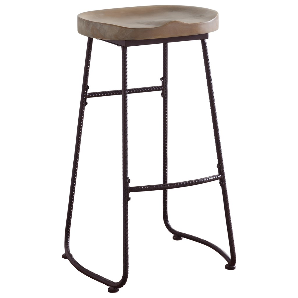 Coaster Dining Chairs And Bar Stools 101086 Rustic Bar Stool With
