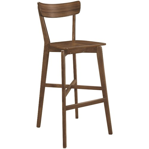 Coaster Dining Chairs and Bar Stools Mid-Century Modern Bar Stool