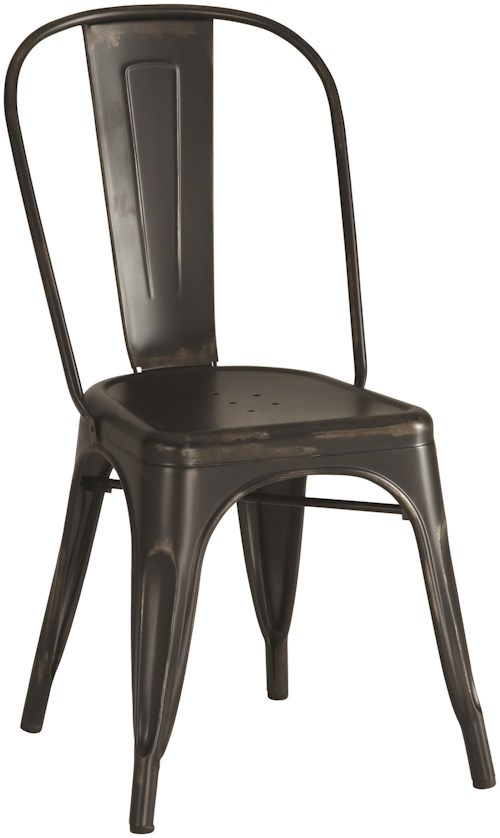 Coaster Dining Chairs and Bar Stools Industrial Metal Chair