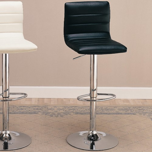 29 Upholstered Bar Chair With Adjule Height Dining Chairs And Stools By Coaster Wil Furniture Corpus Christi Kingsville