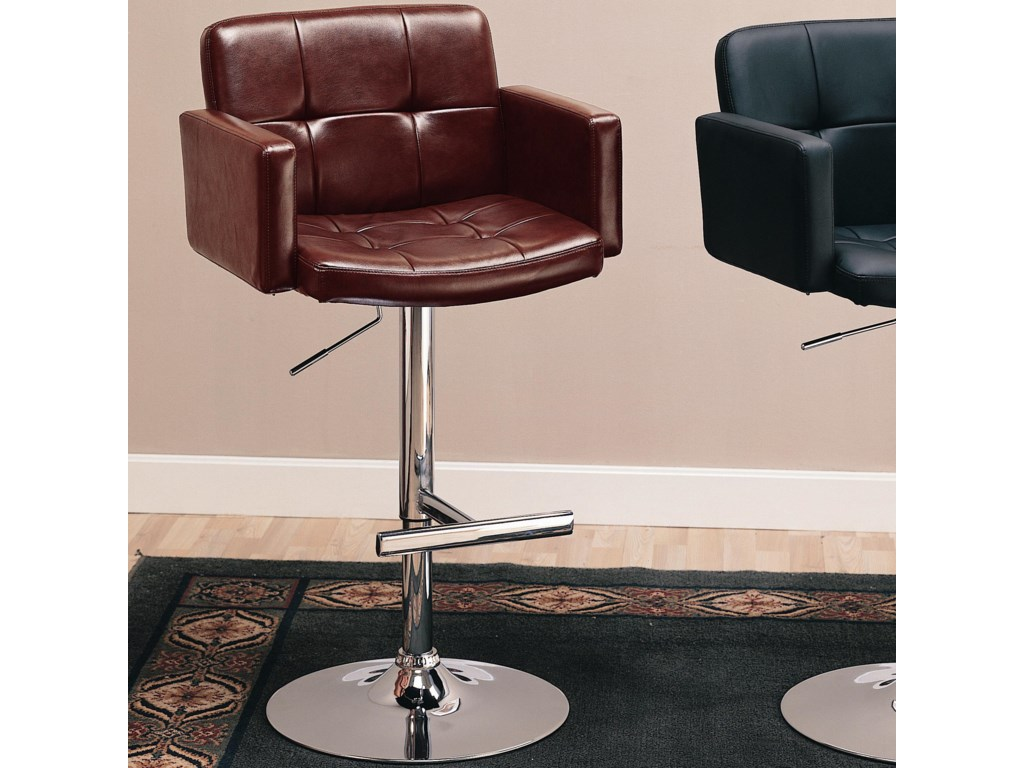 Shown in Brown Faux Leather