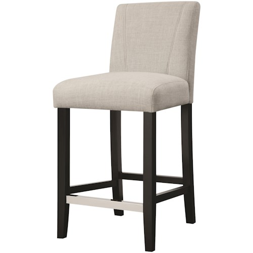 Coaster Dining Chairs and Bar Stools Upholstered Parson Dining Stool