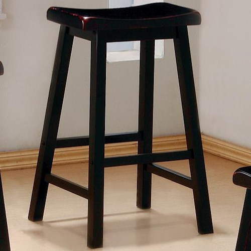Coaster dining chairs and bar stools quot wooden stool