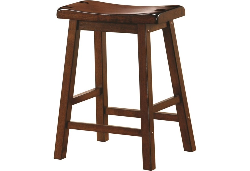 Dining Chairs And Bar Stools 24 Wooden Bar Stool By Coaster At Dunk Bright Furniture