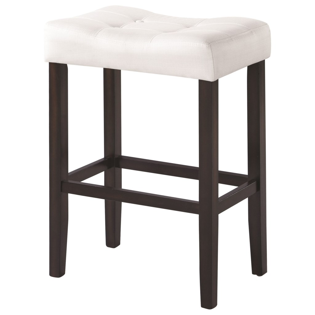 Coaster Dining Chairs And Bar Stools Upholstered Backless Bar Stool