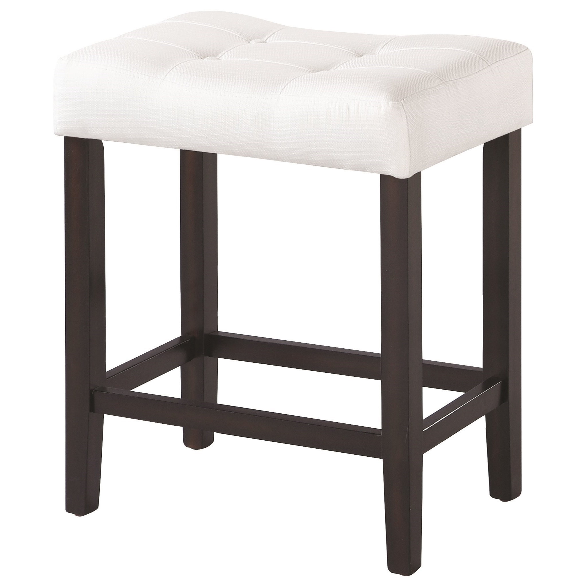 Coaster Dining Chairs And Bar Stools Upholstered Backless Counter Height  Stool