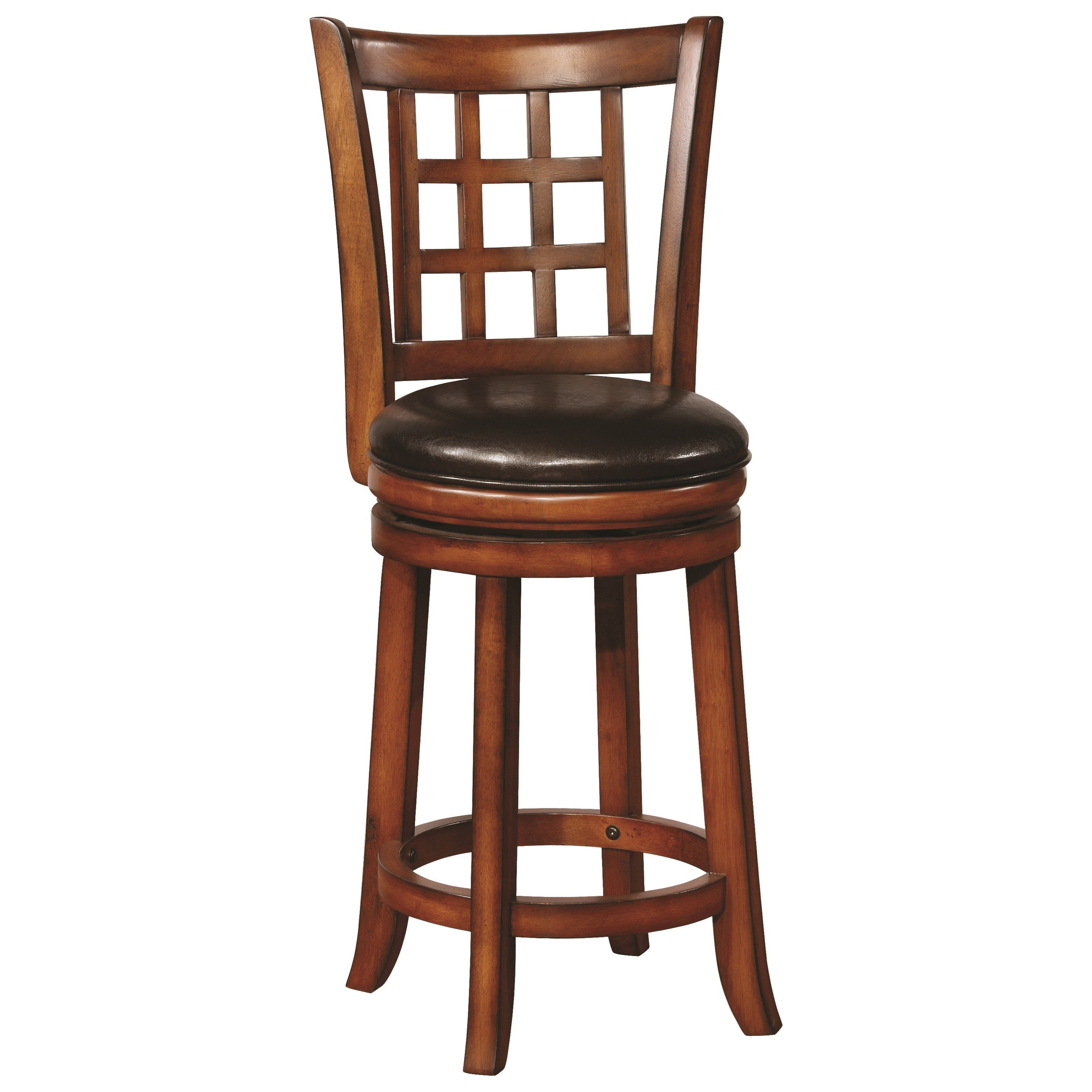 Coaster Dining Chairs And Bar Stools Swivel Counter Height Stool With  Upholstered Seat