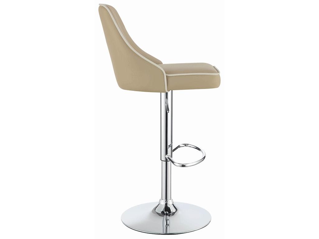 Coaster Dining Chairs and Bar StoolsAdjustable Bar Stool - Beige