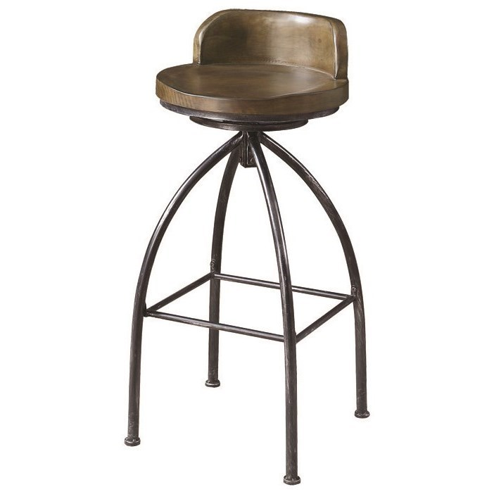 Coaster Dining Chairs And Bar Stools Swivel Counter Stool With Metal Base